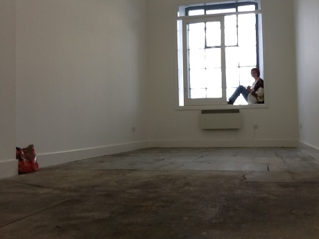 took possession of the keys to a brilliant new studio space at Meadow Mill, in Dundee.