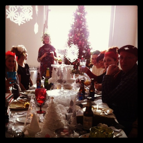 brilliant time with Paola McClure decorating and hosting a Christmas doo, on the 4th floor with our fellow creatives.